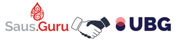 saus.guru and united brands group partnerships